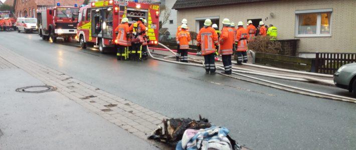 Einsatz: Wohnungsbrand in Nienstedt